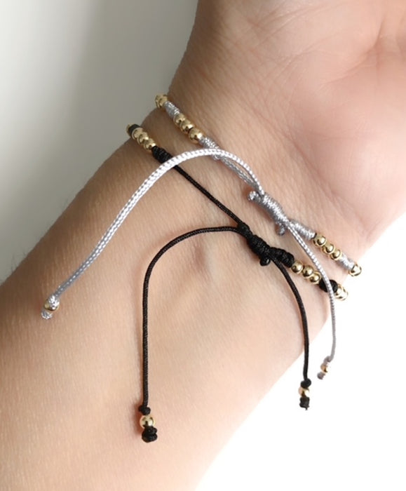 Best Friend Birthday Gifts,  String Matching Bracelets, Celestial Jewelry