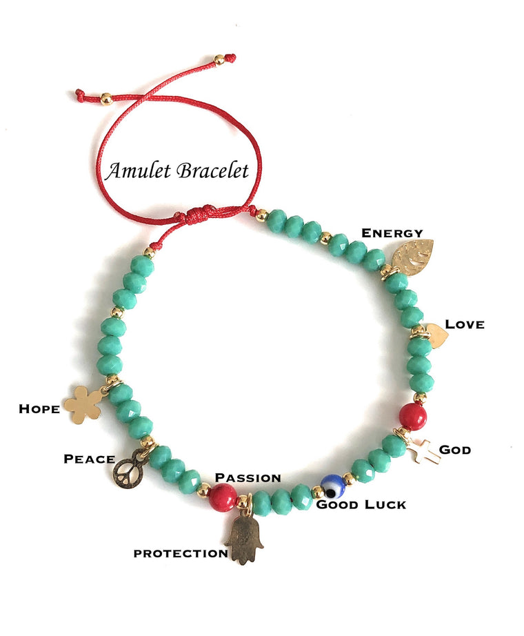 Powerful Amulet Charms Adjustable Bracelet For Woman