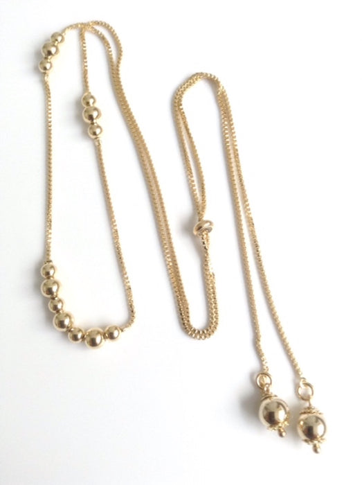 Bolo Necklace gold