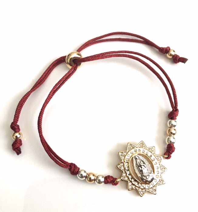 Our Lady of Guadalupe Red Bracelet Mother of Hope