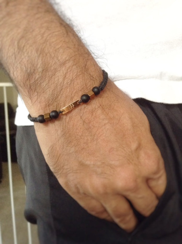 Best Friend bracelet for men Gift - Best Friend Forever bracelet - Friendship bracelet