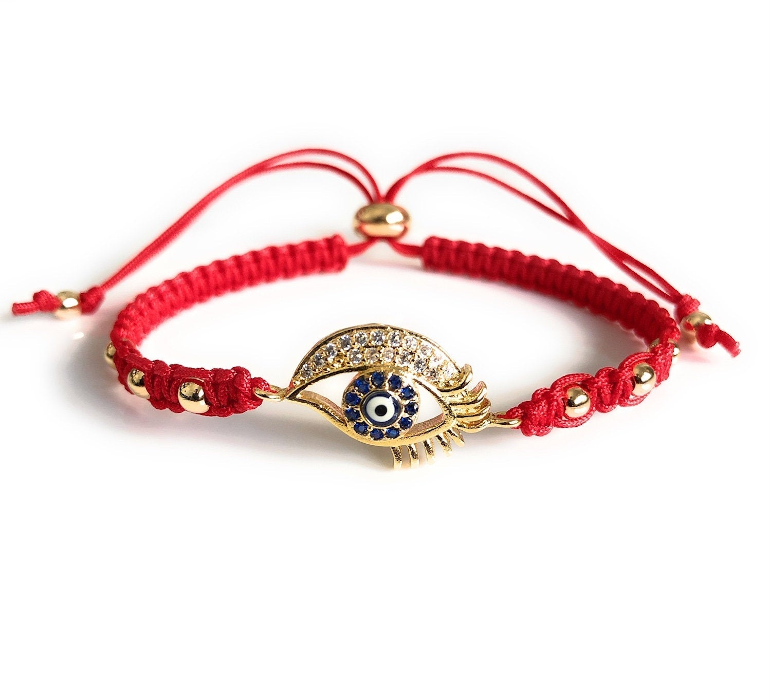 Lucky Eye Red Bracelet