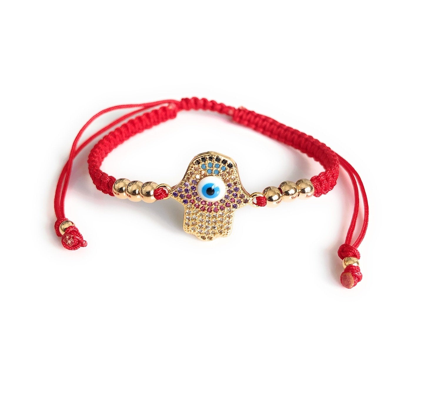Powerful Red Bracelet