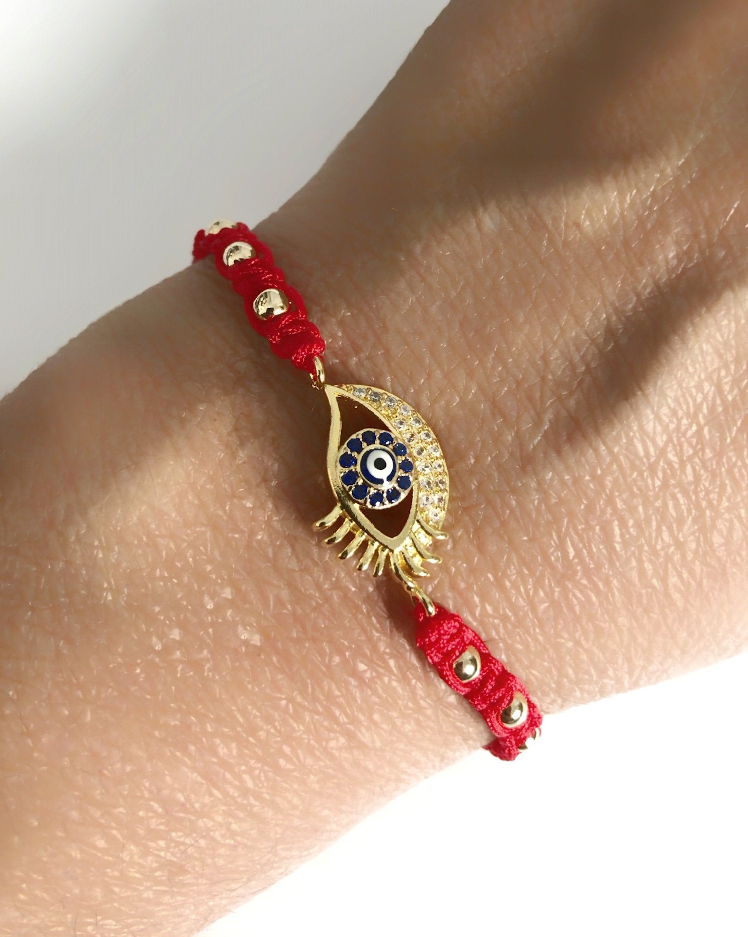 Turkish Evil Eye Red Bracelet