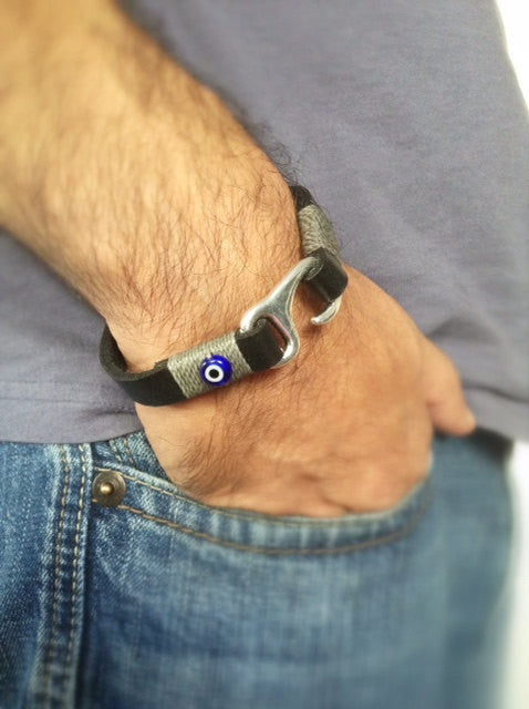 Evil eye jewelry for men