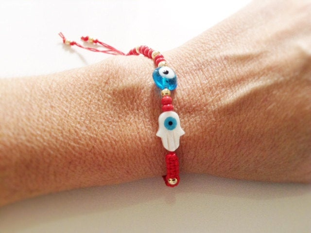 Red String Adjustable Bracelet