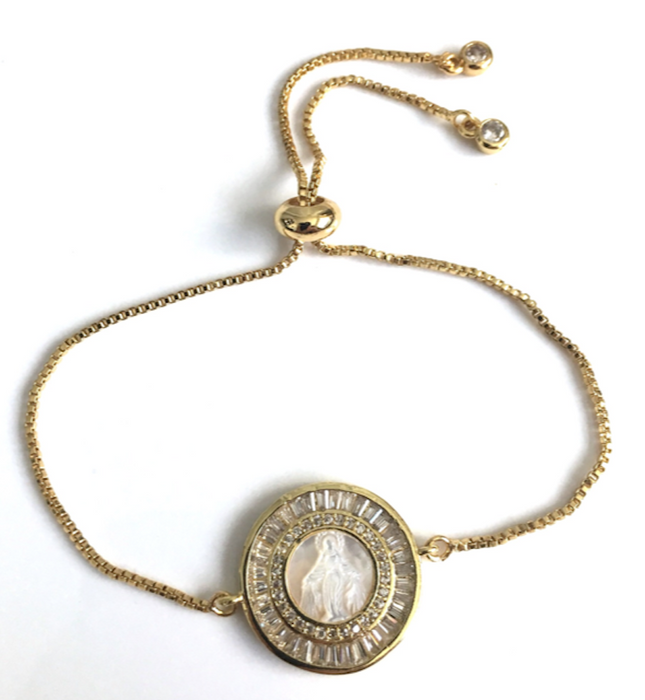 Miraculous Mother Of Pearl Bracelet for Women