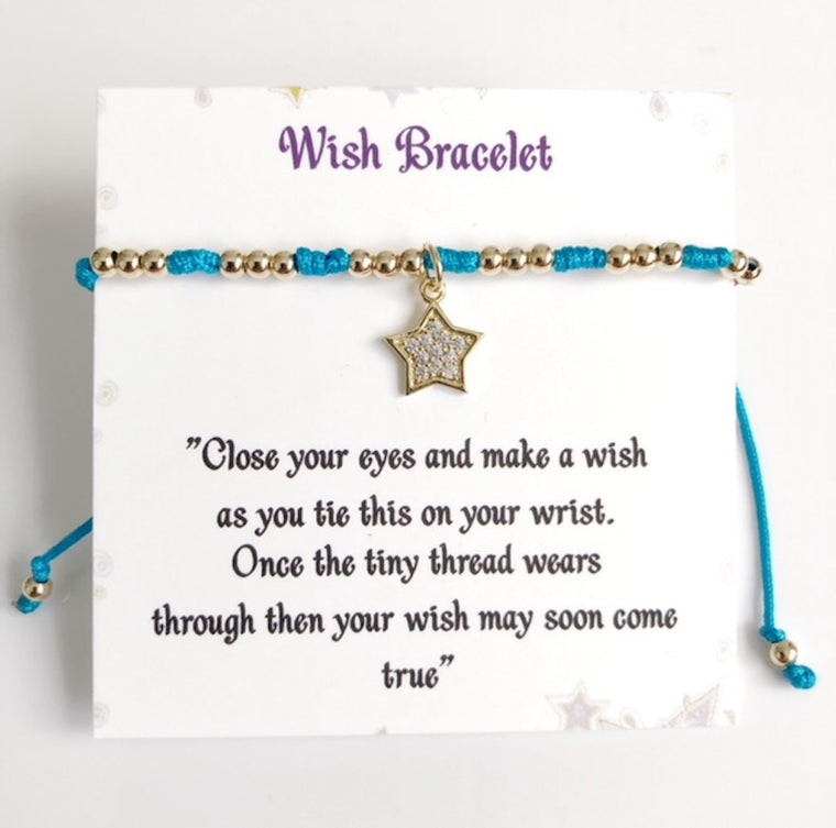 Wish Bracelet Friendship Gift