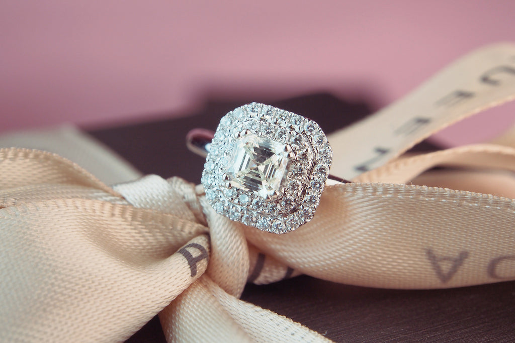 AQUEEN engagement ring is truly extraordinary