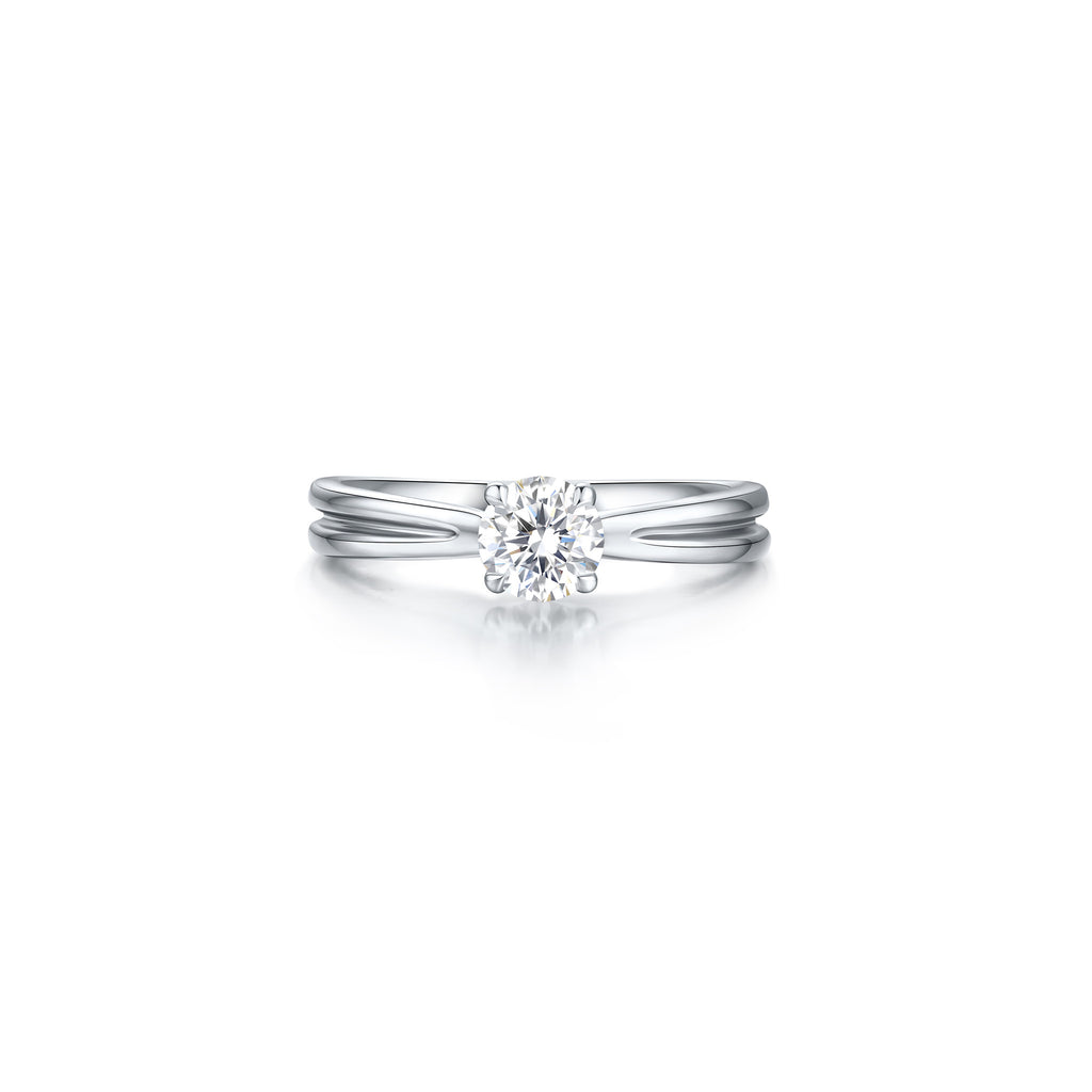 Pallas collection 18k diamond ring
