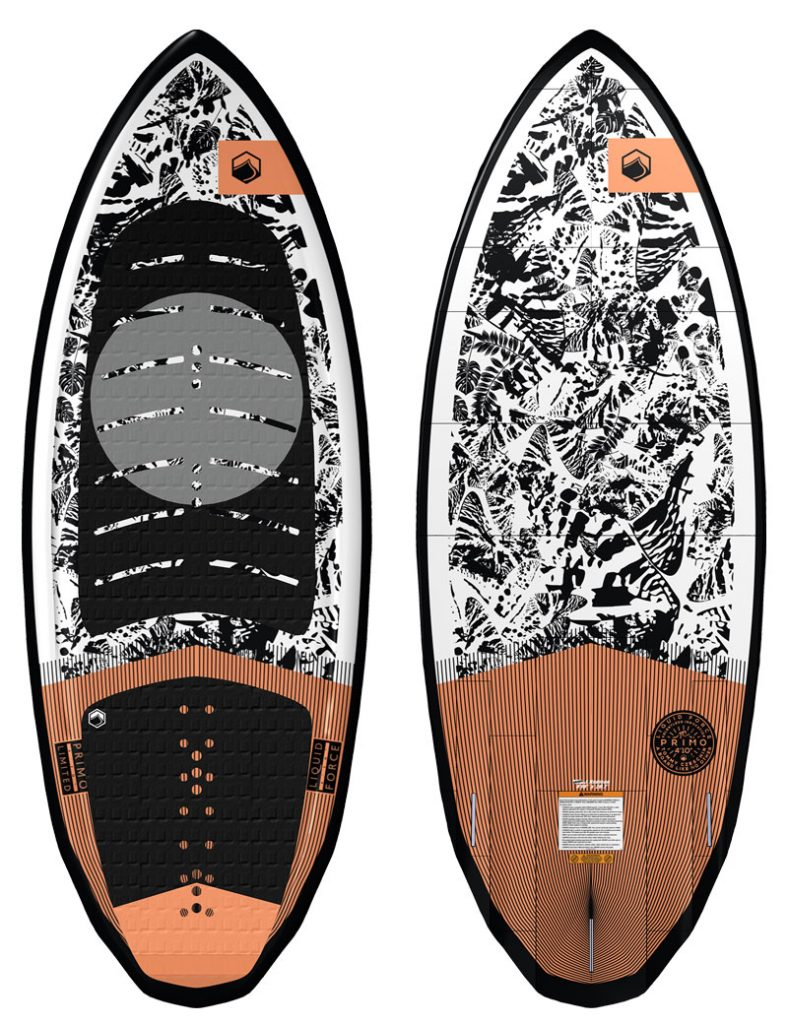 Primo LTD Wakesurf Board w/ Footstraps (2021)