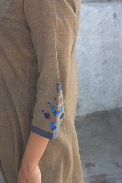 Era Long Khadi Kurta