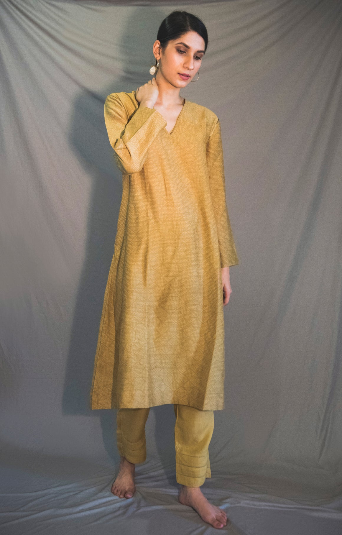 CITRINE EASY SUMMER KURTA