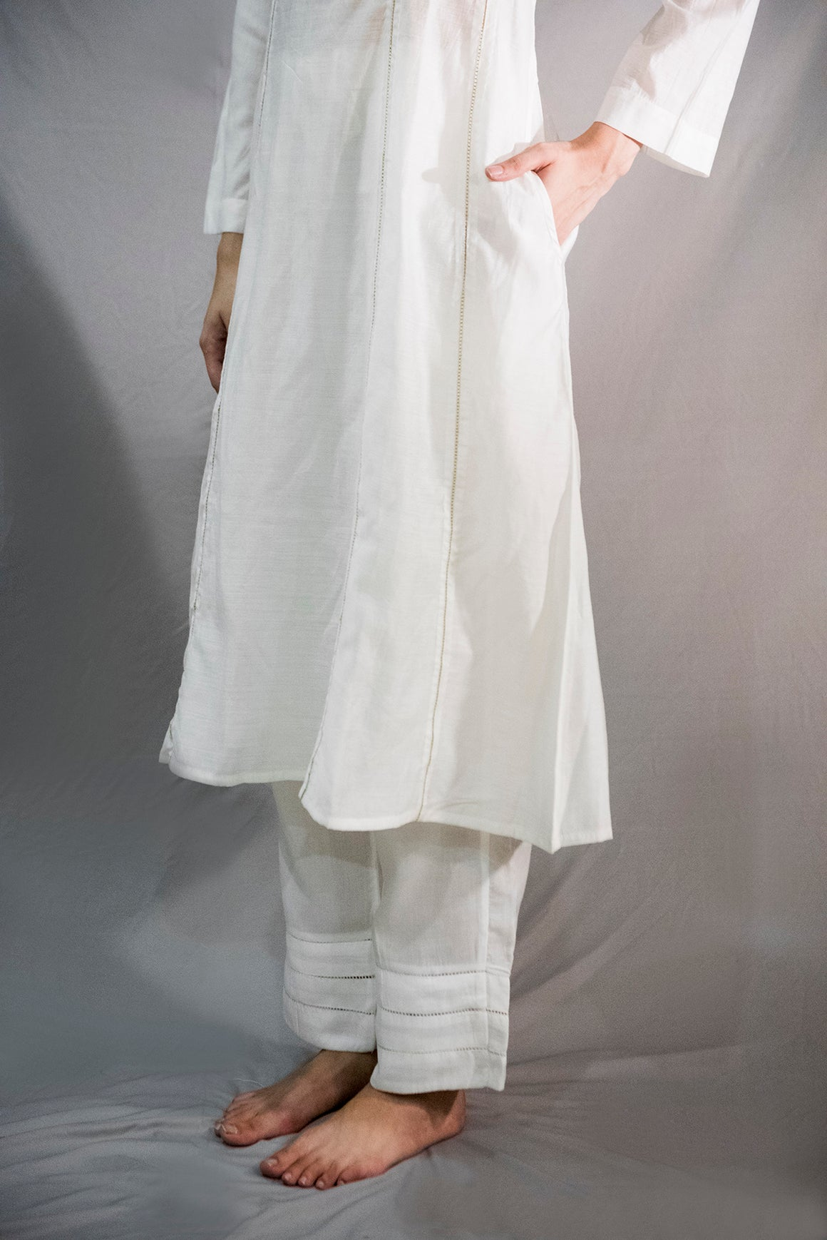 ALABY SILK COTTON KURTA