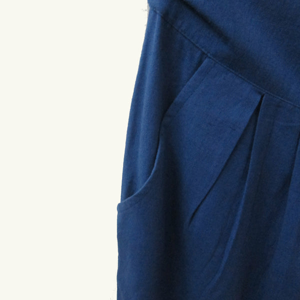 Cotton Linen Slim Pants