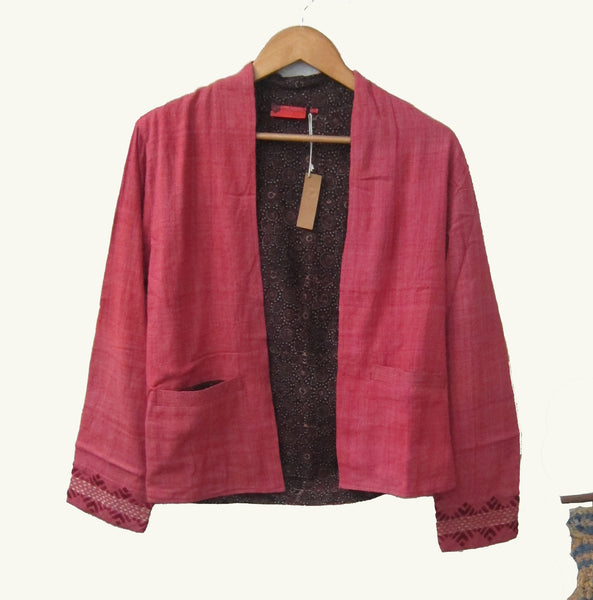 Eri Hand Embroidered Short jacket
