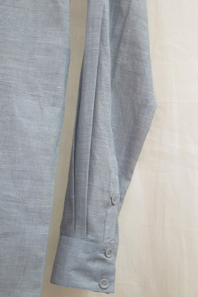 Khadi Grey Chambray Shirt