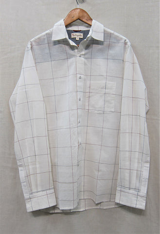 Kora Check Shirt With Regular Shirt Collar