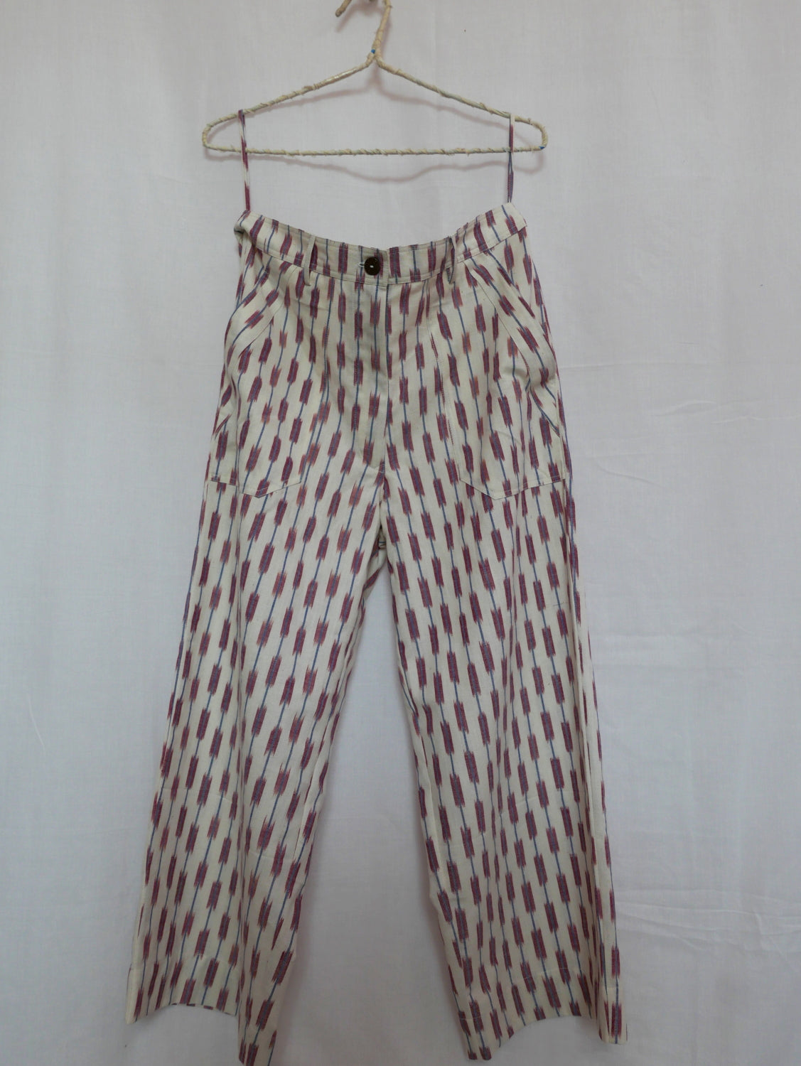 Mimosa Wide Hemmed Ikat Pants - ONLY 1 LEFT!