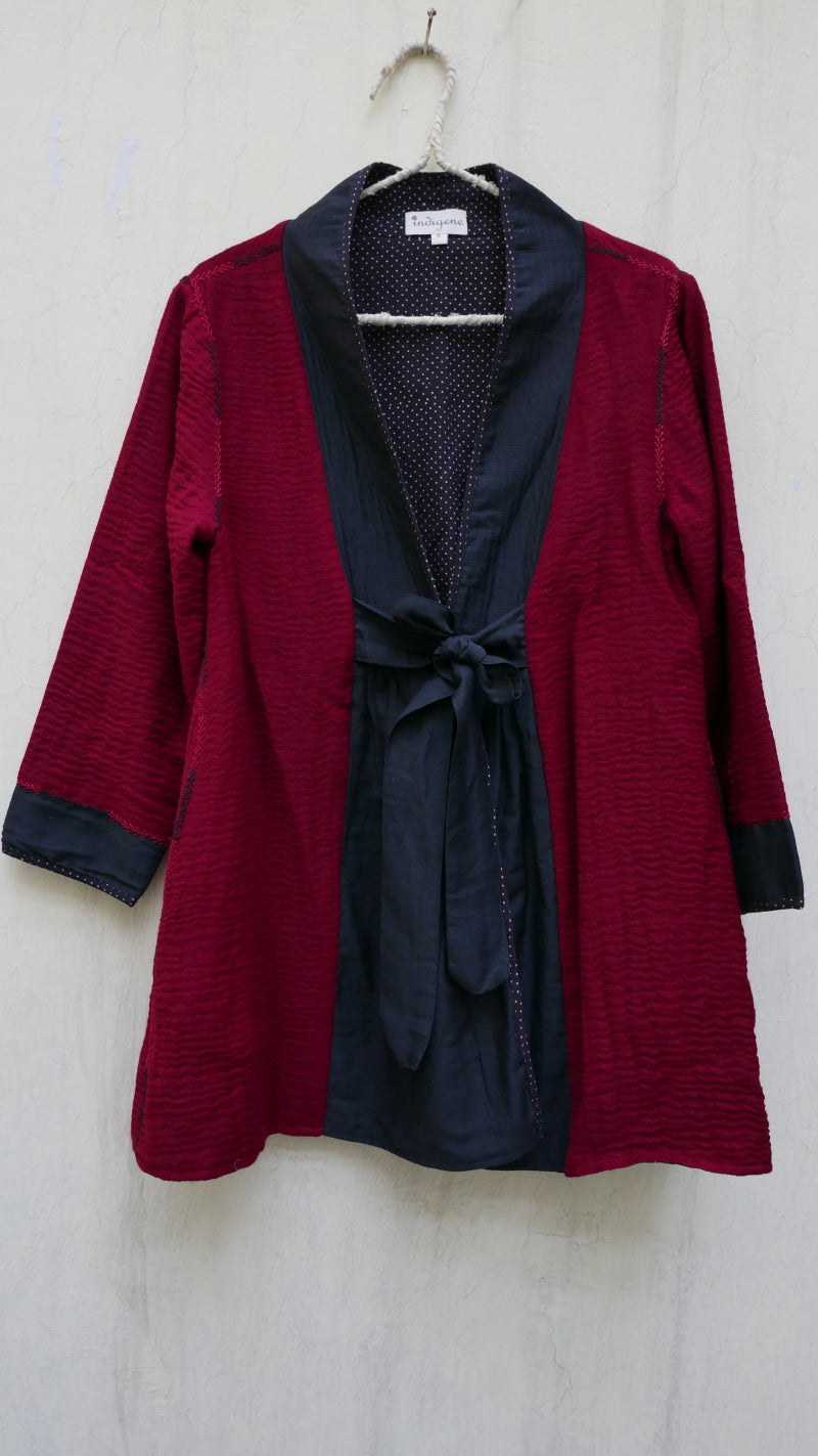 Scarlet Merino Wool Jacket - LIMITED PIECES ONLY!