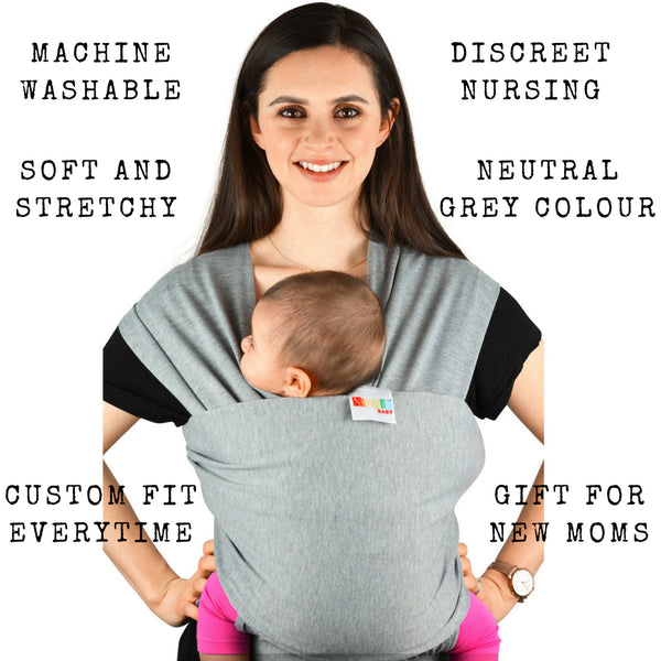 bd1105f69e4 Baby Carrier Sling For Newborn - Infant Child Carrier Cotton Spandex  Stretchy Wrap – NimNik