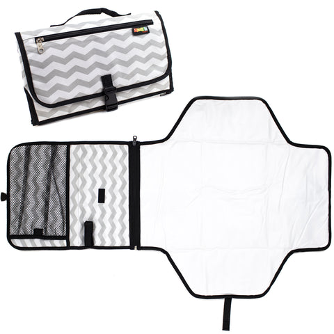 Baby Nappy Changing Station, Fashionable Portable Table Pad Change Mat for Travel