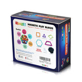 Magnetic Building Blocks - Gift Box Toy Set for Children, Boys,Girls and Teenagers. 56 pcs Educational Games