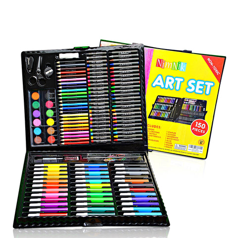 Art Sets For Children Girls Boys - 150 Piece Creativity Art Drawing Set Gift Case for Children | Great Birthday Gifts Present For Girls Of All Ages