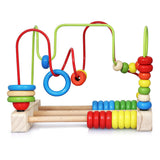 Bead Maze Toy - Classic Toys for Babies Toddlers Wooden Roller Coaster Beads Early Learning Toys for 3 Year Olds