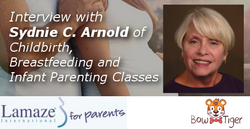 Interview with Sydnie C. Arnold of Childbirth, Breastfeeding and Infant Parenting Classes