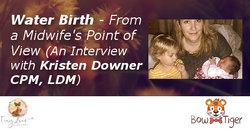 Water Birth - From a Midwife's Point of View (An Interview with Kristen Downer CPM, LDM)