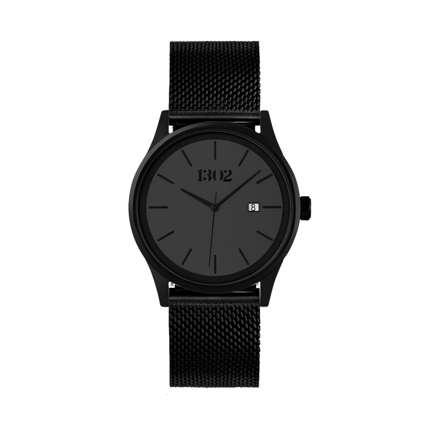 Black Case / Grey Dial