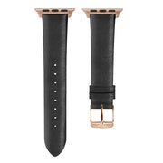Black Strap / Rose Gold Buckle - 38mm, 40mm