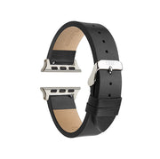 Black Textured / Silver Buckle - 42mm, 44mm