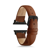 Brown Strap / Space Grey Buckle - 38mm, 40mm