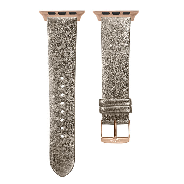 Champagne Shimmer Strap / Rose Gold Buckle - 38mm, 40mm