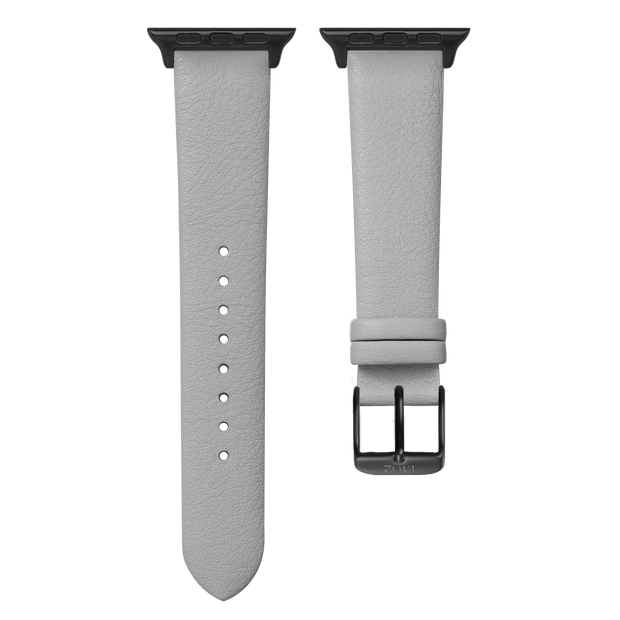 Textured Grey Strap / Space Grey Buckle - 38mm, 40mm