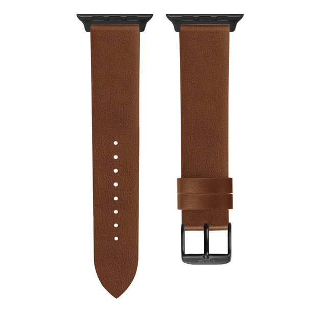 Chestnut Textured / Black Buckle - 42mm, 44mm