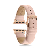 Nude Strap / Rose Gold Buckle - 38mm, 40mm