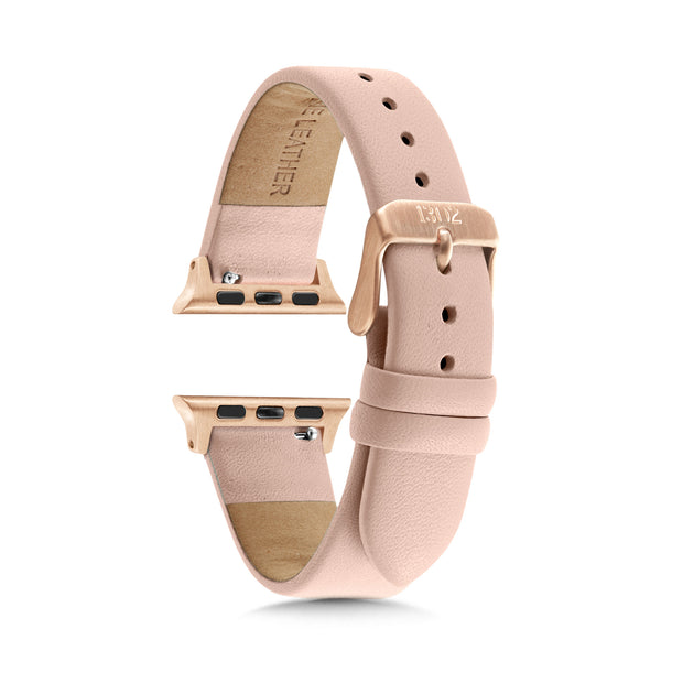 829ad9987eb Nude Strap   Rose Gold Buckle - 38mm