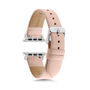 Nude Strap / Silver Buckle - 38mm, 40mm