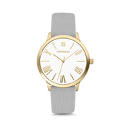 Gold Case / White Dial with Roman Numerals