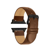 Walnut / Black Buckle - 38mm, 40mm, 42mm, 44mm