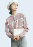 Bordered Shirt in Pink