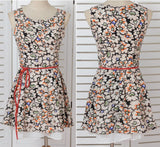99a9000 - DRESS WITH BELT