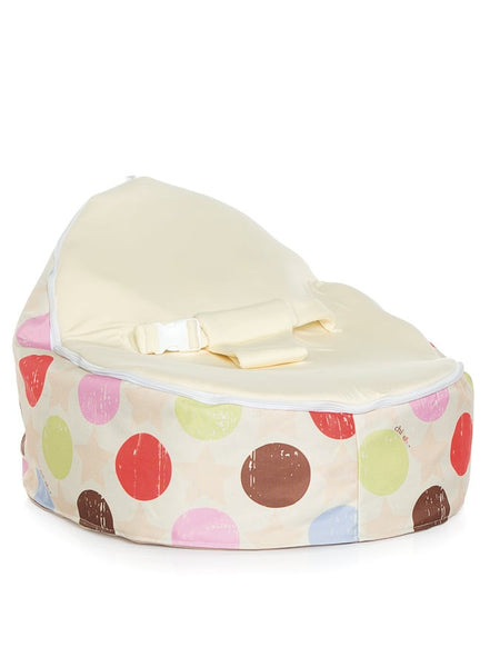 Liberty Baby Bean Bag with swappable Stone seat attachment
