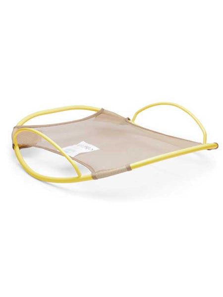 Lemon color Pod Rocker for the Chibebe Snuggle Pod baby bean bag