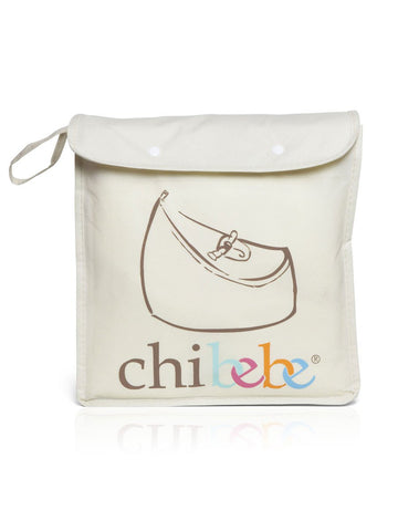 Packaging bag for the Chibebe Snuggle Pod Baby Bean Bag