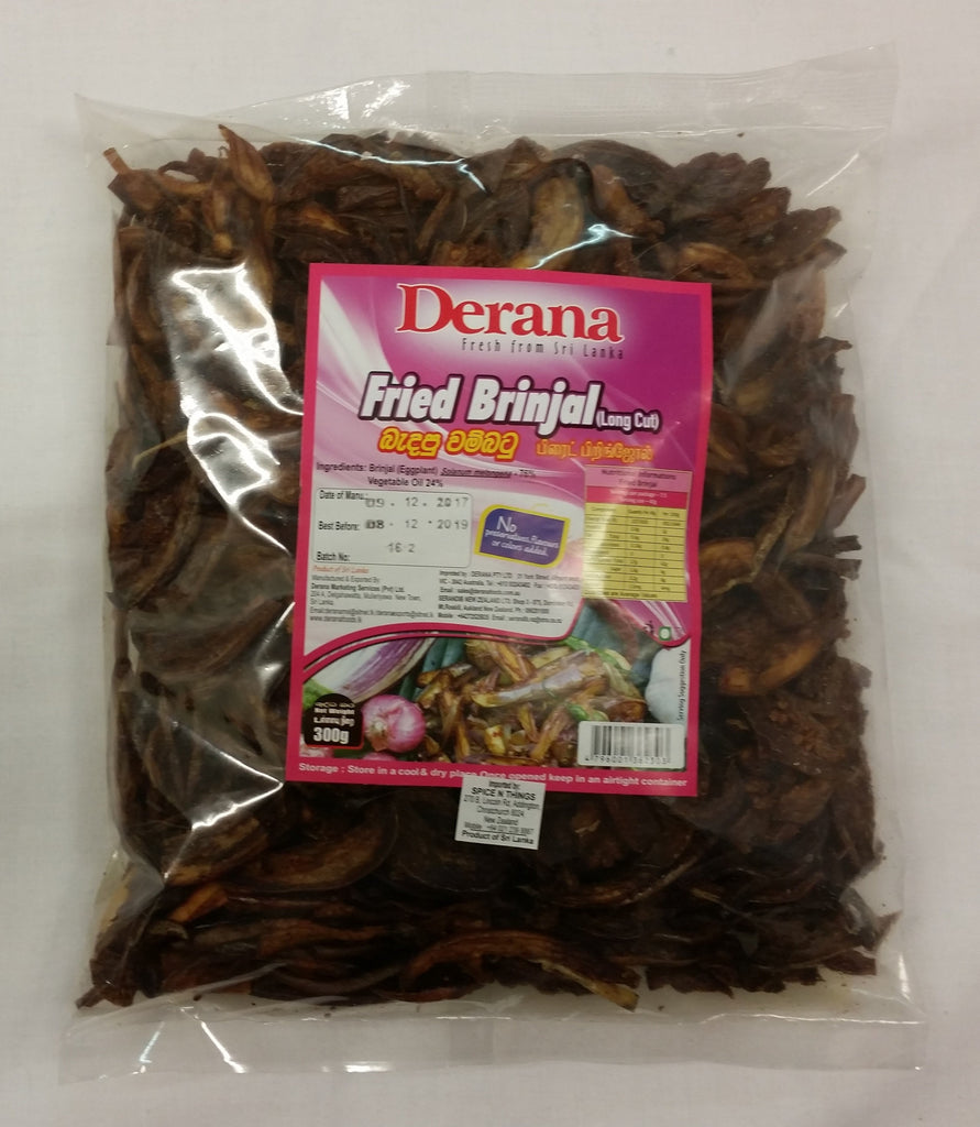Fried Brinjol 300g Packet