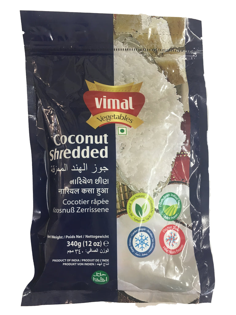 Coconut Shredded 340g packet ( Frozen )